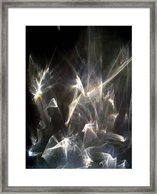 Framed Print featuring the photograph Rainbow Pieces by Leena Pekkalainen