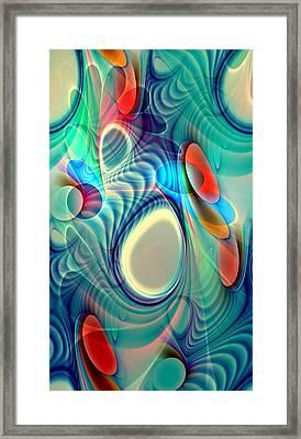 Rainbow Play Framed Print by Anastasiya Malakhova