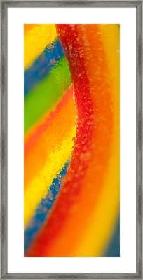 Rainbow Framed Print by Rebecca Skinner