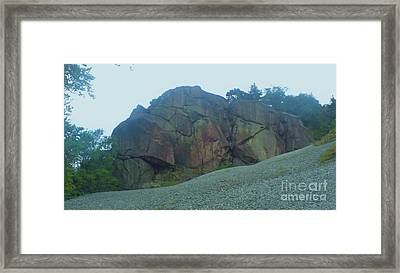 Framed Print featuring the photograph Rainbow Rock by John Williams