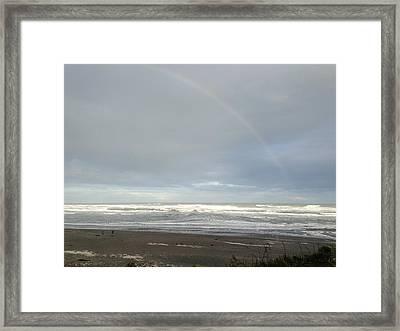 Rainbow Framed Print by Ron Torborg