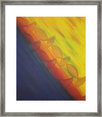 Rainbow Run Framed Print