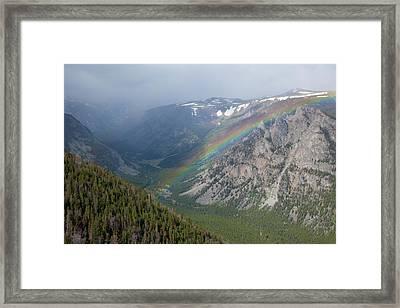 Rainbow Framed Print