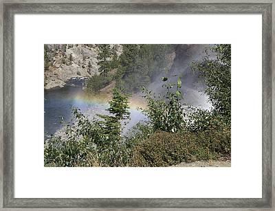 Rainbow Framed Print by Shelley Ewer