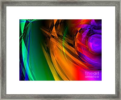 Rainbow Thoughts Framed Print