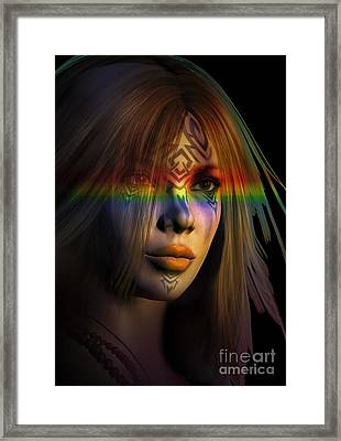 Rainbow Warrior ... Two  Framed Print