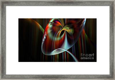 Rainbow Waterfall Framed Print by Peter R Nicholls
