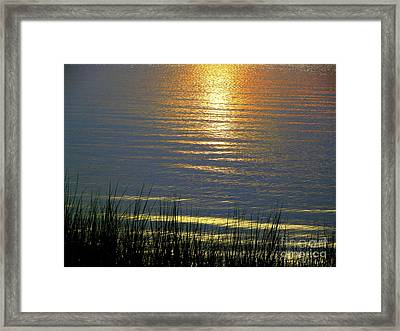 Rainbow Waters Framed Print by CapeScapes Fine Art Photography