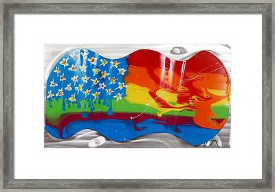 Rainbow Wave - Edition 3 Framed Print by Mac Worthington