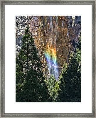 Rainbows And Promises Framed Print