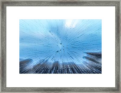 Rainburst Framed Print by Eric Sloan