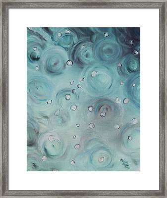 Raindrops Framed Print by Patricia Olson