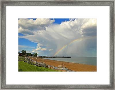 Rainebow Framed Print