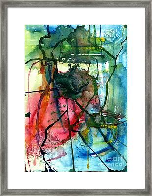 Rainforest From Above Framed Print