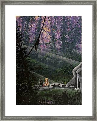 Rainforest Mysteries Framed Print by Jack Malloch
