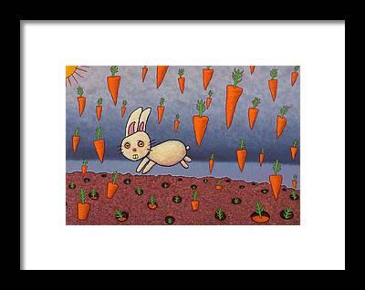 Carrot Framed Prints