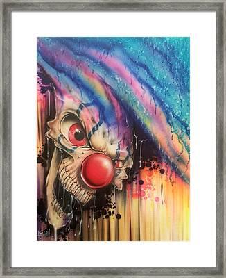 Raining Fear Framed Print by Mike Royal