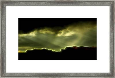 Rainlight 1 Framed Print by William Horden