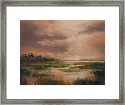 Rainmaker Framed Print by Cecelia Campbell