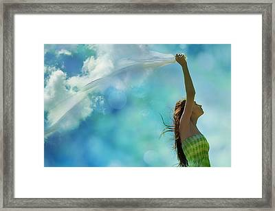Rainmaker Framed Print by Laura Fasulo