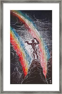 Rainmaker Framed Print by Maria Arango Diener
