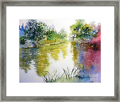 Rainny Day  Framed Print