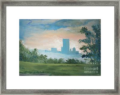 Rainsong Framed Print by Jim Rehlin