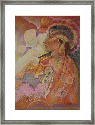 Rainsong Framed Print