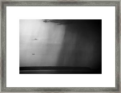 Rainstorm Framed Print by Emilio Lopez