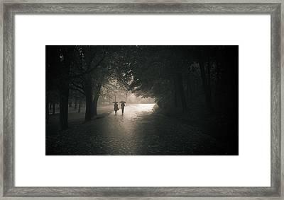 Rainy Afternoom Framed Print