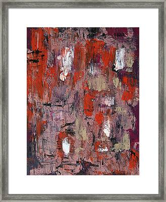Rainy Afternoon Framed Print by Oscar Penalber