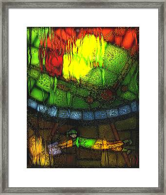 Rainy Day 2 Framed Print by Jack Zulli