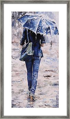 Rainy Day #22 Framed Print by Emerico Imre Toth
