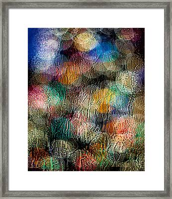 Rainy Day Christmas Framed Print