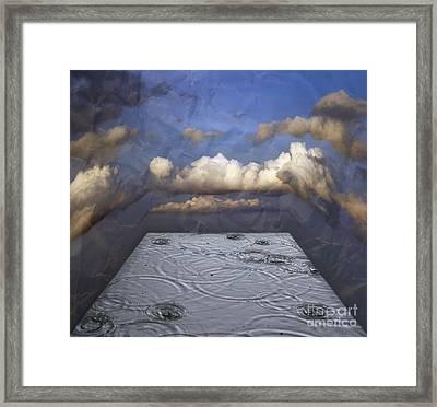 Rainy Day Framed Print by Michal Boubin