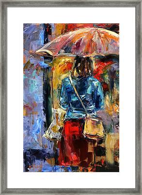 Rainy Day People #2 Framed Print