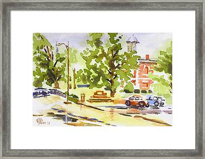 Rainy Days Framed Print by Kip DeVore