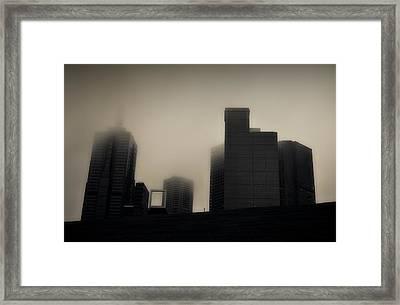 Rainy Mood Framed Print by Mihai Florea