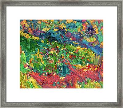 Raised Bed Garden Framed Print