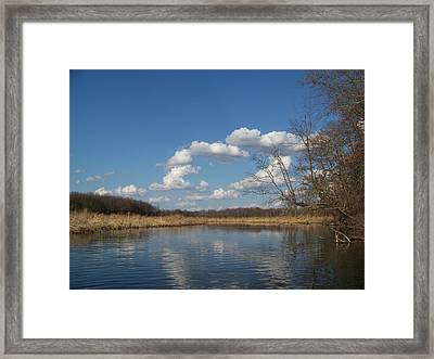 Raisen River Framed Print by Jennifer  King