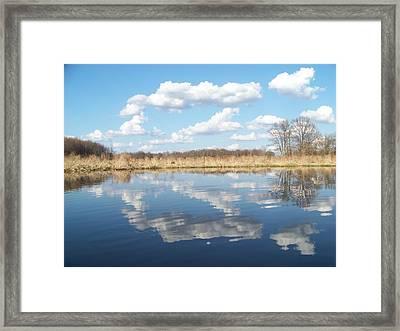 Raisen River1 Framed Print by Jennifer  King