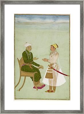 Raja Jai Singh Of Amber Framed Print by British Library