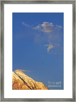 Rakaposhi Mountain Pakistan Framed Print by Robert Preston