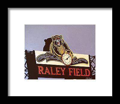 Raley Field Framed Prints