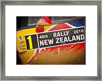 Rally New Zealand Framed Print by motography aka Phil Clark