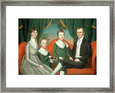 Ralph Eleaser Whiteside Earl, American 1788-1838 Framed Print by Litz Collection