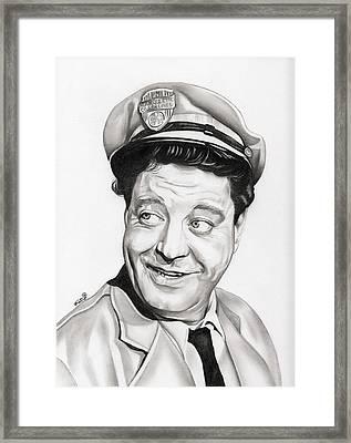 Ralph Kramden Framed Print