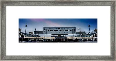 Ralph Wilson Stadium Framed Print