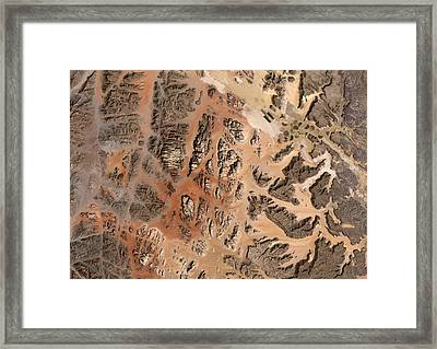 Ram Desert Transjordanian Plateau Jordan Framed Print by Anonymous