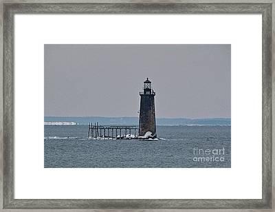 Ram Island Ledge Light_9949 Framed Print by Joseph Marquis